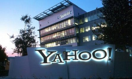 Yahoo's headquarters in Sunnyvale, California.