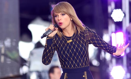 Taylor Swift's singles are on YouTube Music Key, but not her albums.