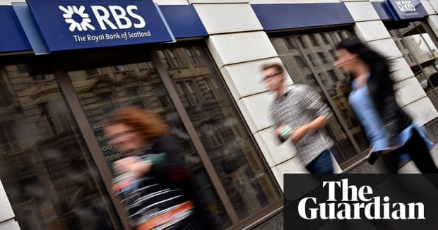 RBS fined £56m for IT breakdown | Business | The Guardian