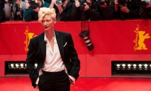 Tilda Swinton at the 64rd Berlinale Film Festival in February 2014