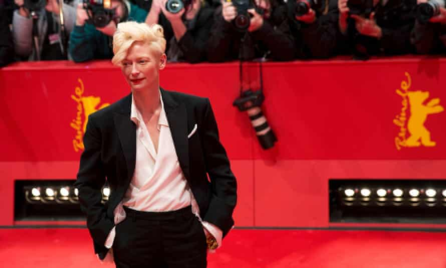 Tilda Swinton at the 64rd Berlinale Film Festival in February 2014