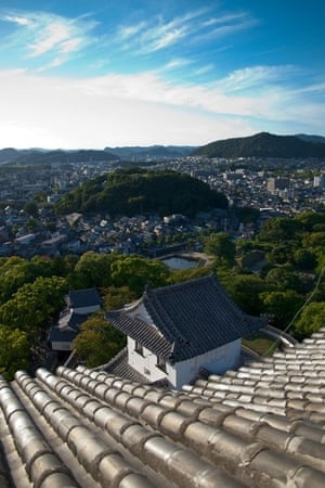 View from Himeji