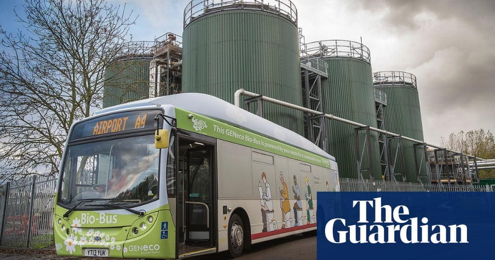 Uks First Poo Bus Hits The Road Environment The Guardian