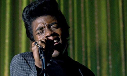 Chadwick Boseman as James Brown in Get On Up. Photograph: Sportsphoto/Allstar