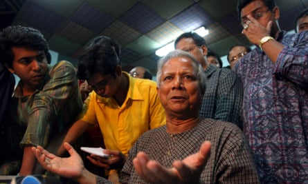 Muhammad Yunus is a social entrepreneur who won the Nobel Peace Prize for pioneering the model of microfinance in Bangladesh.
