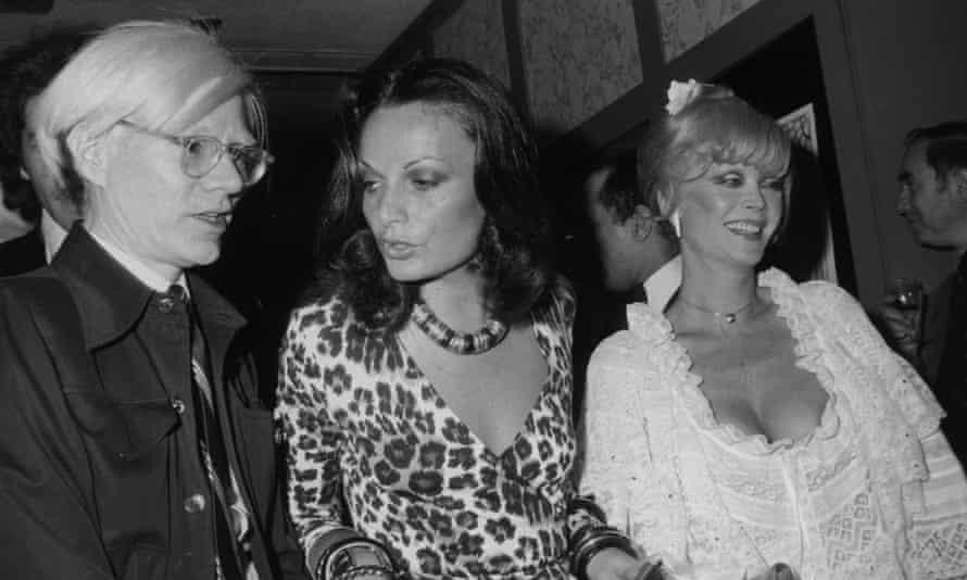 Andy Warhol, Diane von Fürstenberg and Monique van Vooren