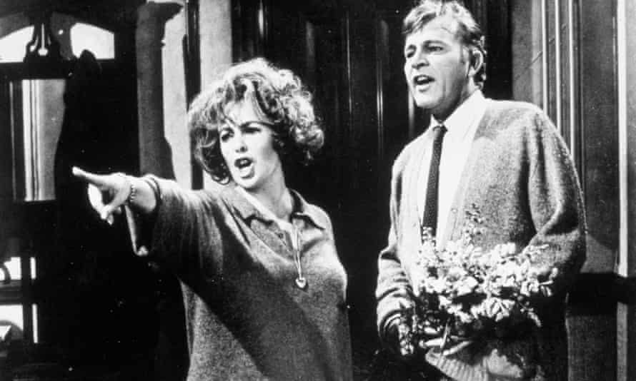 Taylor and Burton In Who's Afraid of Virginia Woolf?