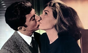 Hoffman and Bancroft in The Graduate