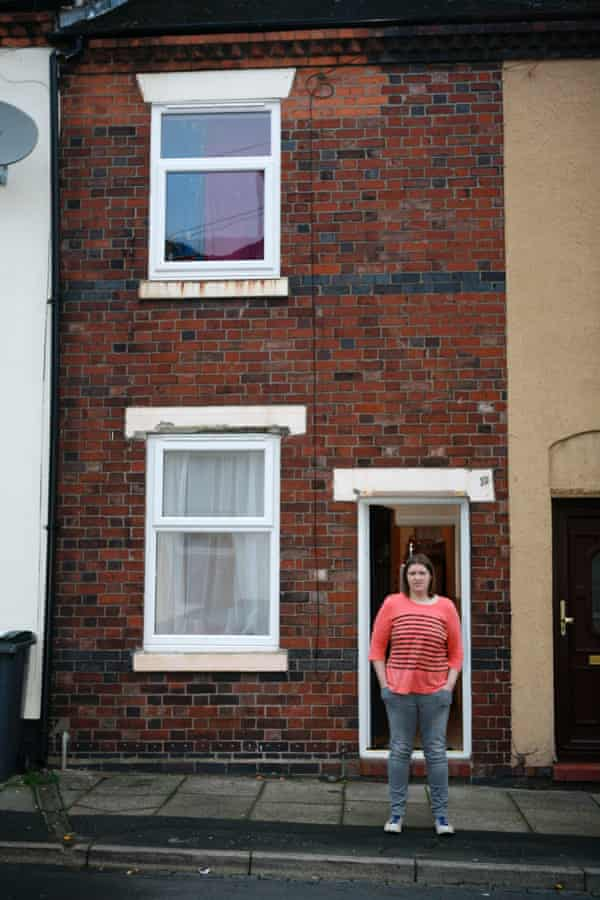 Rachel Roberts has bought her house from Stoke City Council for £1.