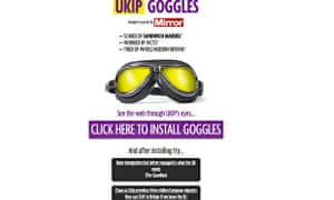 Ukip Goggles