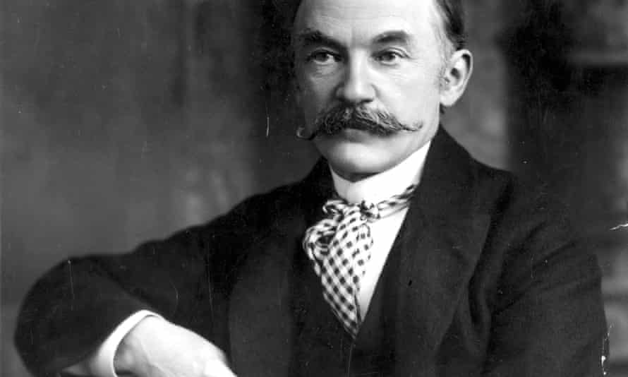 The writer Thomas Hardy