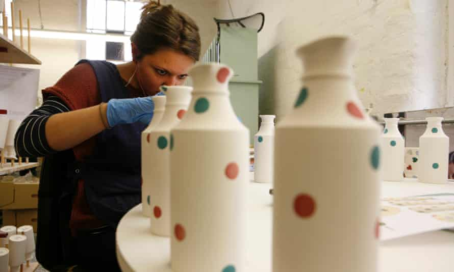 Emma Bridgewater bought the Eastwood Works from Wedgewood in 1996 and now produces all her ceramics in the city.