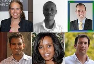 Health Innovation Q&A panellists