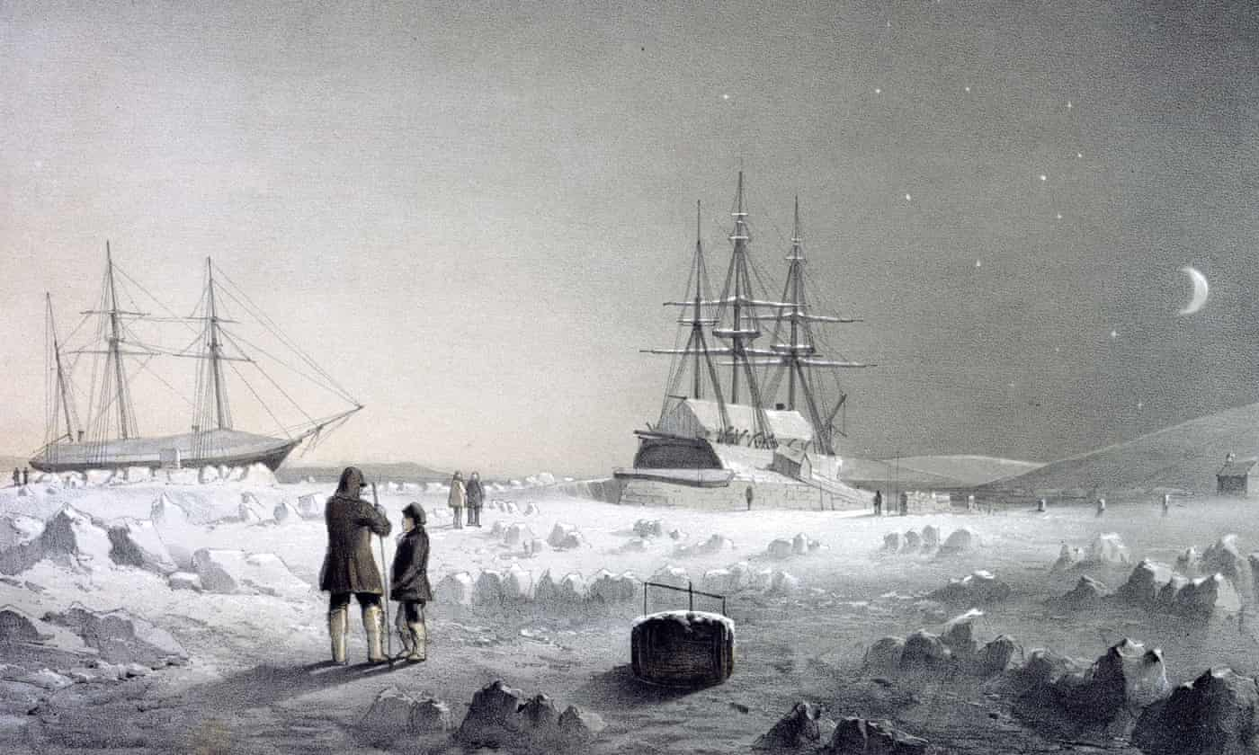 Chilling history: the men who hunted the elusive Northwest Passage