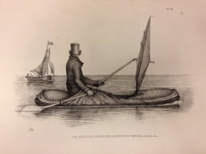 The Boat-Cloak was tested on the River Thames.