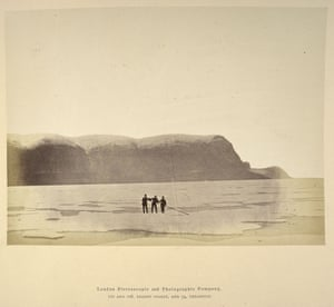 A photograph taken during the Arctic expedition of 1875-76.