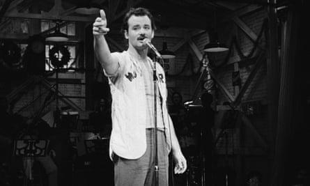 Saturday Night Live, 1977.