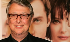 Mike Nichols at the launch of Closer in Los Angeles in 2004.