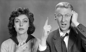 The Mike Nichols and Elaine May quick-fire comedy duo in 1958.