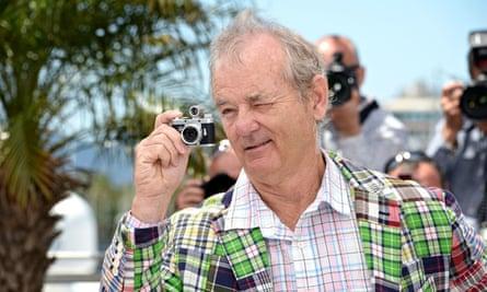 Bill Murray in Cannes in 2012