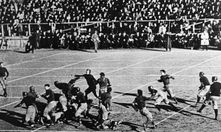 Harvard Triumph Over Yale To Show Heart Of The Game Is Still Beating Strong College Football The Guardian