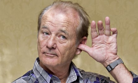 Bill Murray at the St Vincent press conference