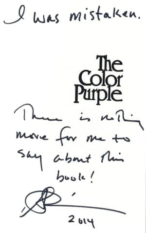 notestoself: Alice Walker's The Color Purple (1982)
