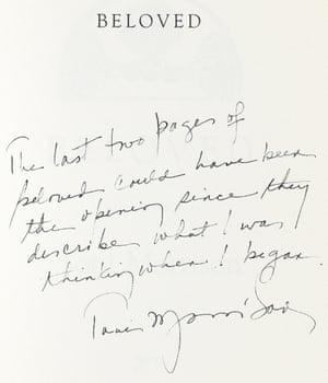 notestoself: Toni Morrison's Beloved (1987)