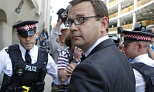 Andy Coulson at the Old Bailey