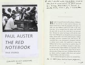 notestoself: Paul Auster's The Red Notebook (2002)