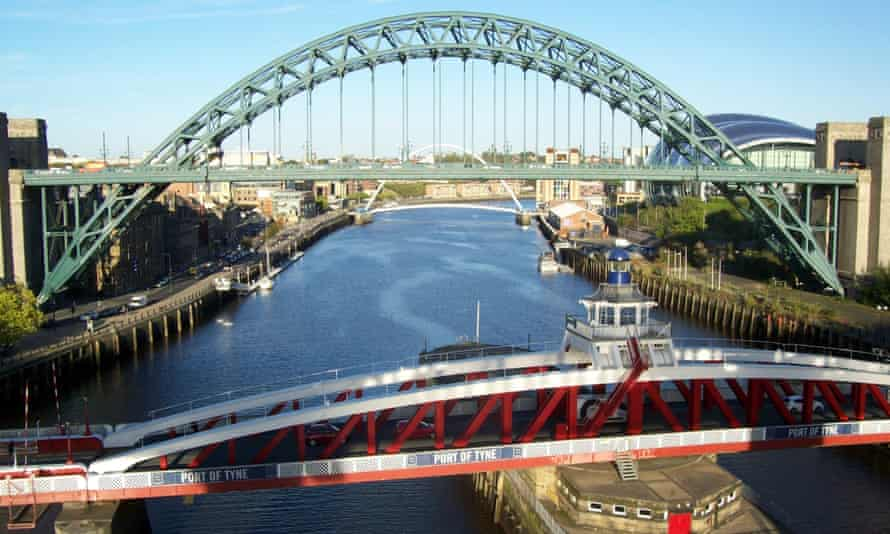 Tyne triumph … readers voted Newcastle their favourite UK city