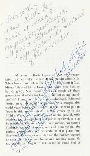 notestoself: Marilynne Robinson's Housekeeping (1980)