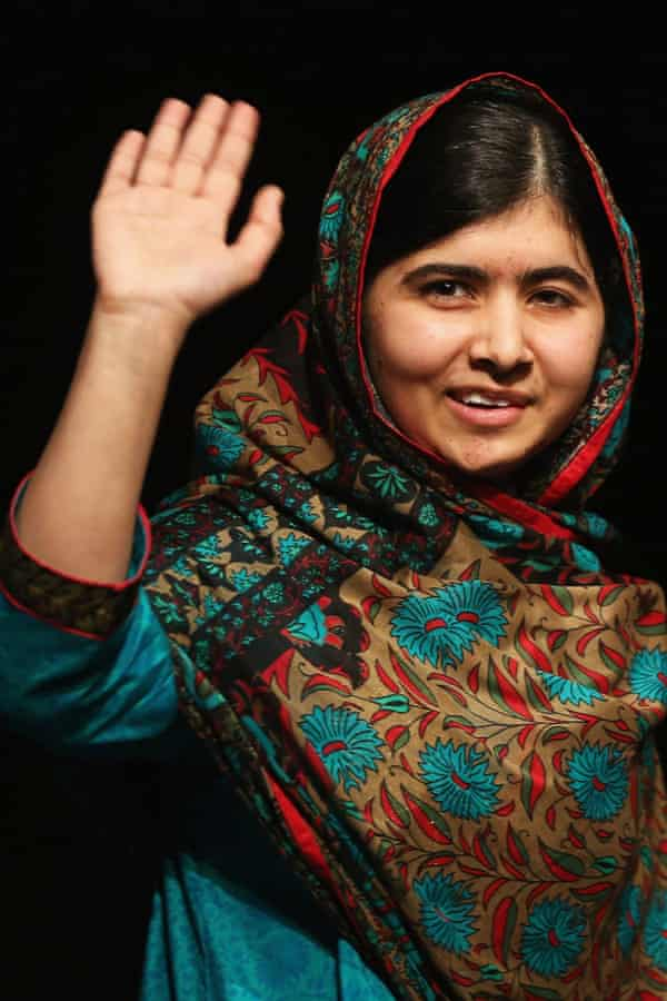 The success of Malala Yousafzai, the Nobel peace prize winner, has been downplayed by Roy.