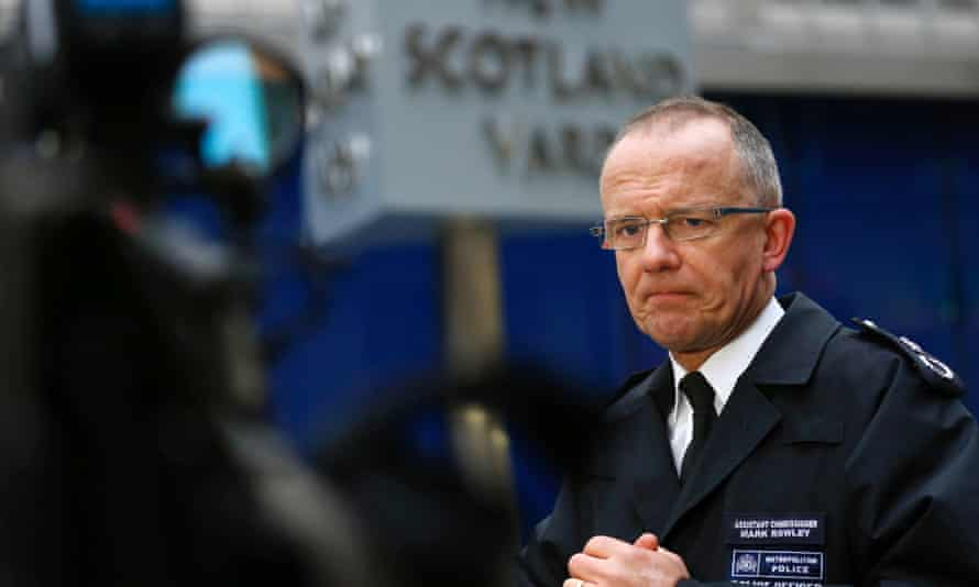 Metropolitan Police Assistant Commissioner Mark Rowley.