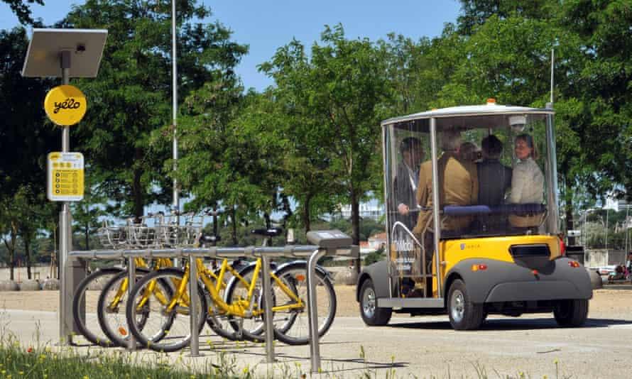 electric driverless car
