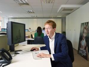 Commissioning editor Matthew Bel