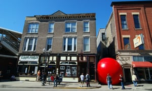 The RedBall in Chicago.
