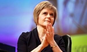 Nicola Sturgeon becomes SNP leader