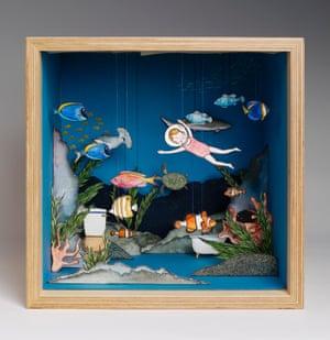 I Always Dreamed of an Underwater Aquarium Bathroom by Katy Christianson