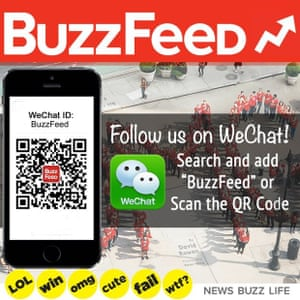 BuzzFeed is working with WeChat.
