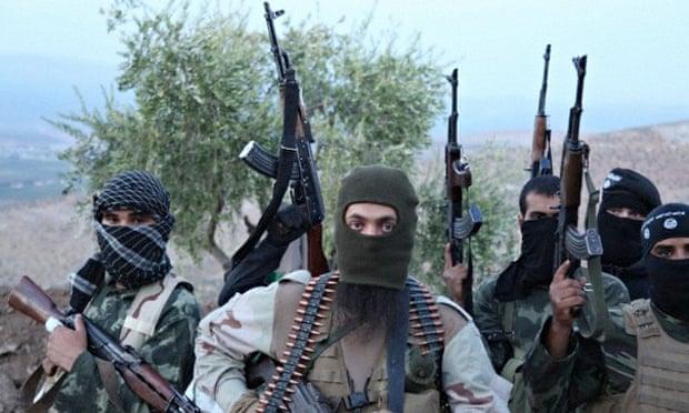 ISIS Rebel Militant Soldiers