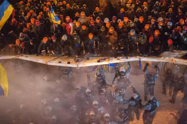 1 December 2013 Euromaidan riots