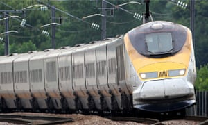 Hundreds of Eurostar passengers were stuck on trains for hours overnight after an overhead cable pro