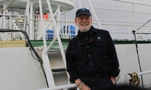 Captain David (Duke) Snider from his last voyage on the Mirai.