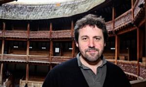 Dominic Dromgoole, artistic director of Shakespeare's Globe