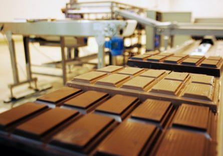 Barry Callebaut supplies chocolate to manufacturers.