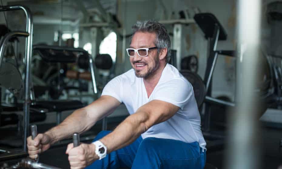 Paul Dolan in gym