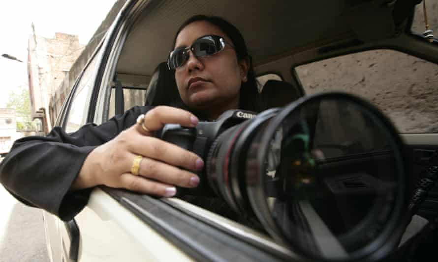 Bhavna Paliwal collects evidence ... her success is directly proportional to the failure of Indian urban marriage. Photograph: Ravi S Sahani/IndiaTodayImages
