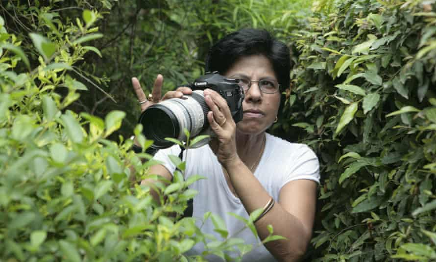 Twenty years of experience ... Taralika Lahiri, head of National Detectives and Corporate Consultants in New Delhi. Photograph: Vikram Sharma/IndiaTodayImages