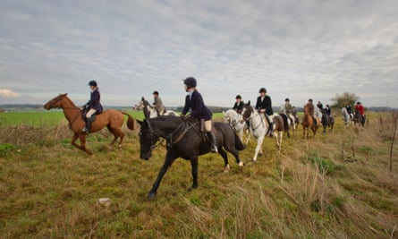 'Very few of the people who ride now have an affinity with the land' … says a supporter of the Cotswold hunt.